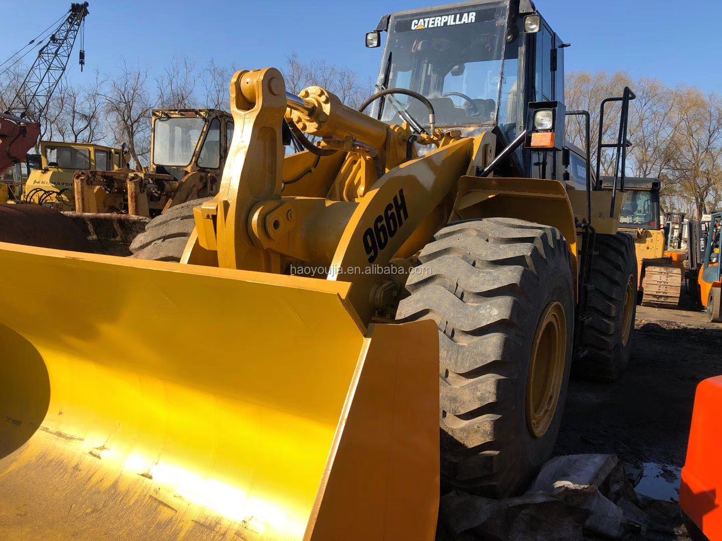 Used CAT 966H Wheel Loader, Japan Used CAT 966H Front Loader for sale