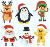 5d diamond painting crystal diy embroidery Christmas Decoration Supplies drawings trees coloring and print diy painting kits