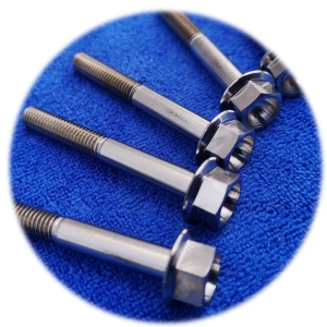 High Quality Nuts Bolts Hardware Fasteners Products Titanium Alloy Anodized Bolts