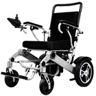 portable folding lightweight wheelchair electric power wheel chair with lithium battery