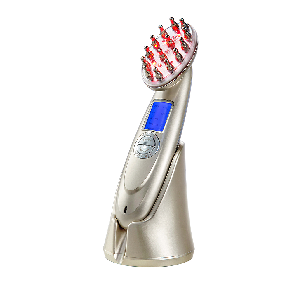 Professional Laser Vibrator Laser Hair Growth <strong>Comb</strong> For Anti Hair Loss