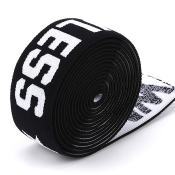 Customized 1.5 inch Jacquard Woven Elastic Band for Waist