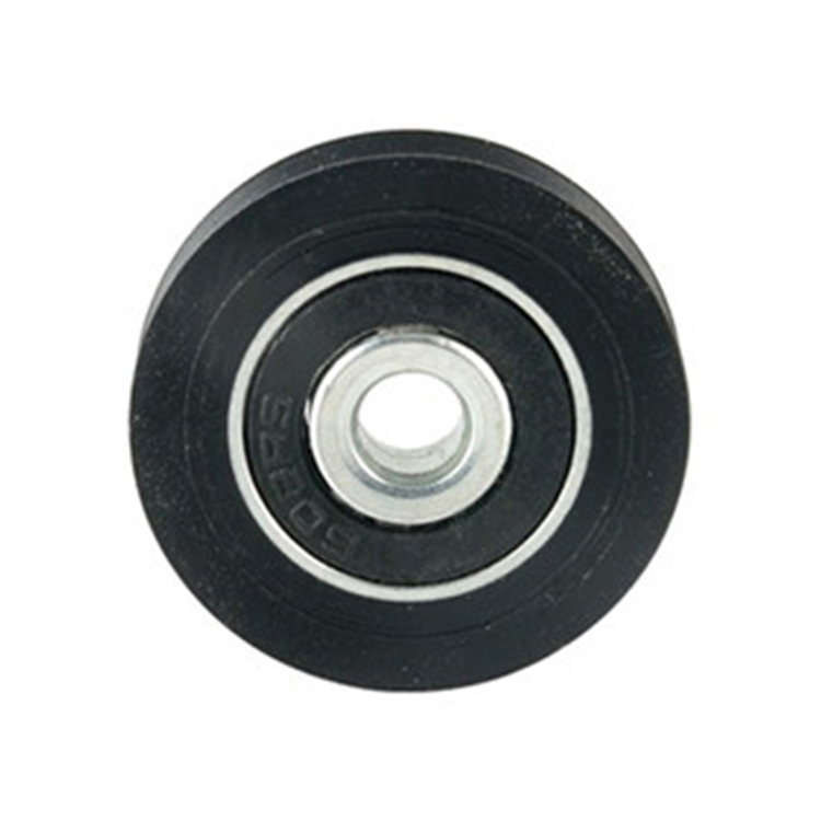 Small plastic ball bearing wheel sliding door window v roller pulley