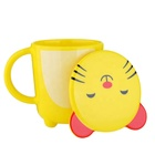 Cartoon Drinking Water Cup Automatic Sterilization Animal Shaped Plastic Cup For Kids