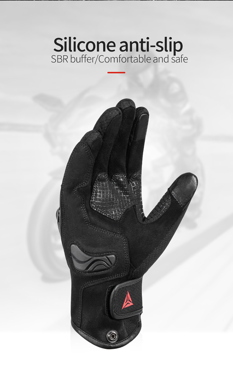 Motowolf Gym Smart Anti-fall Sport Touch Screen Men Racing Gloves Leather Motorcycle Motorbike