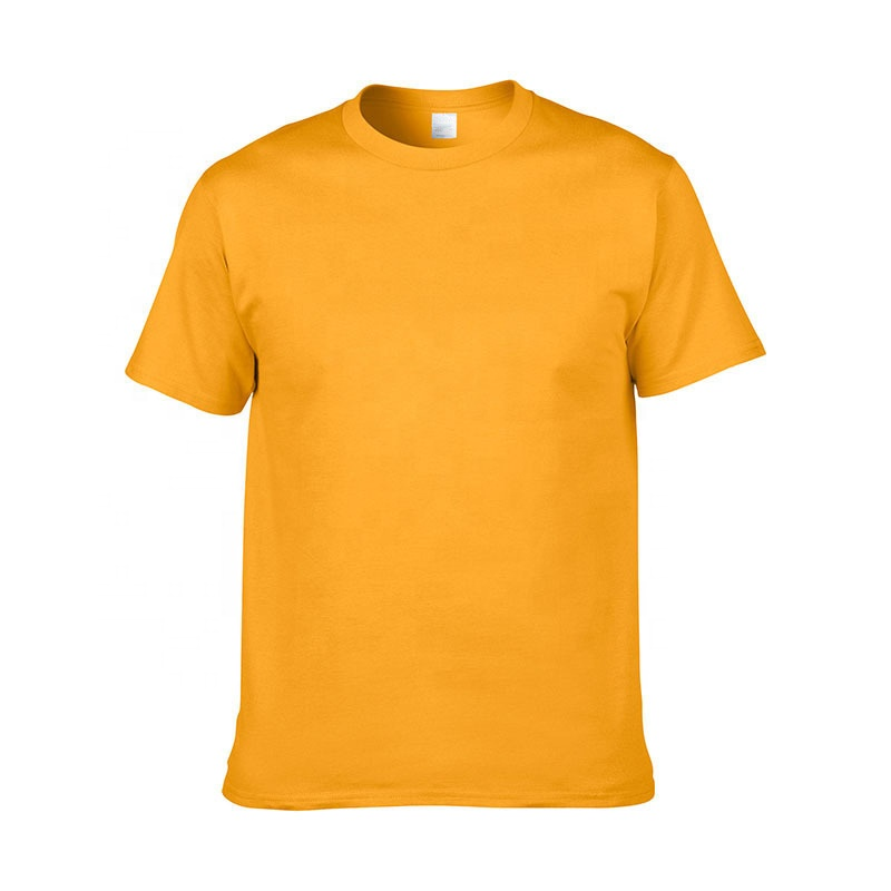 Free Sample Assorted Multiple Colors Sizes TC Blank Plain Wholesale T-shirts for Customized Logo Printing
