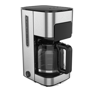 Commercial Big Capacity stainless steel body flush espresso machine 12cup automatic dual boiler coffee mill machine