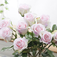 High simulation flower bouquet preserved flower Eternal Forever wedding backdrop/wedding decoration