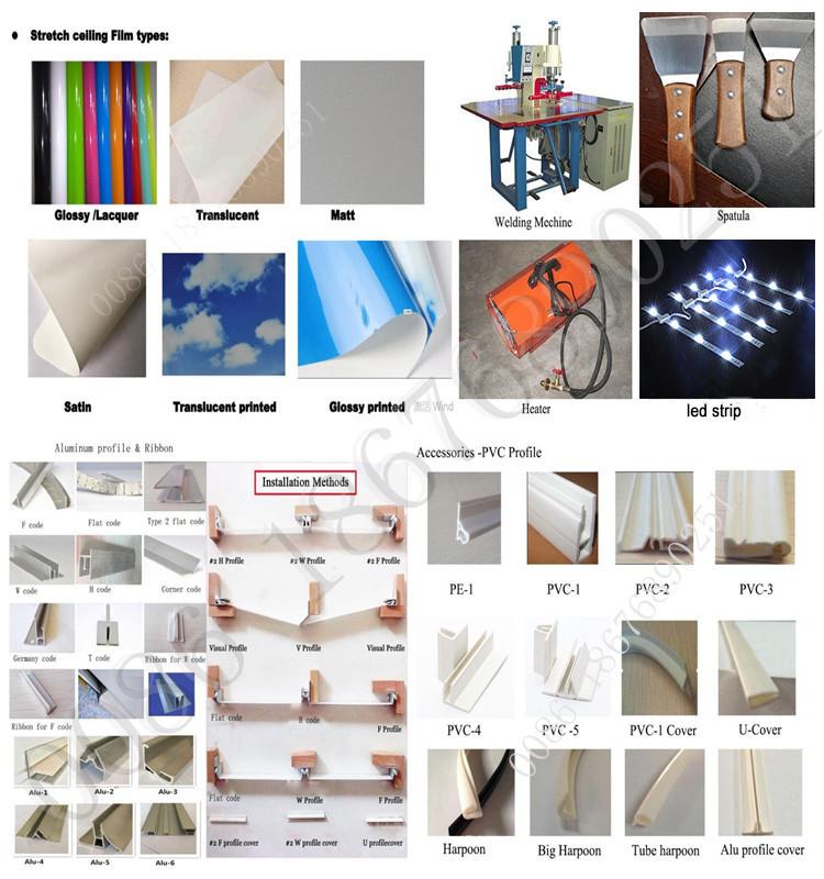 Haining Dilaminasi 3D Panel PVC untuk Langit-langit Dinding