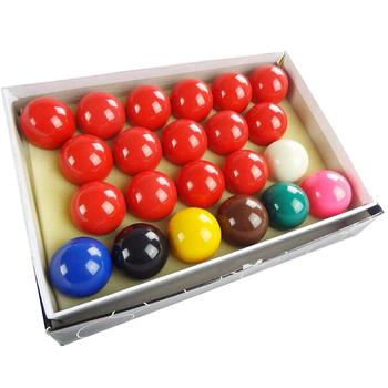 "Pool Balls Set 2-1/16"" Snooker Balls Complete Set 22 Balls Billiard Game Accessory"