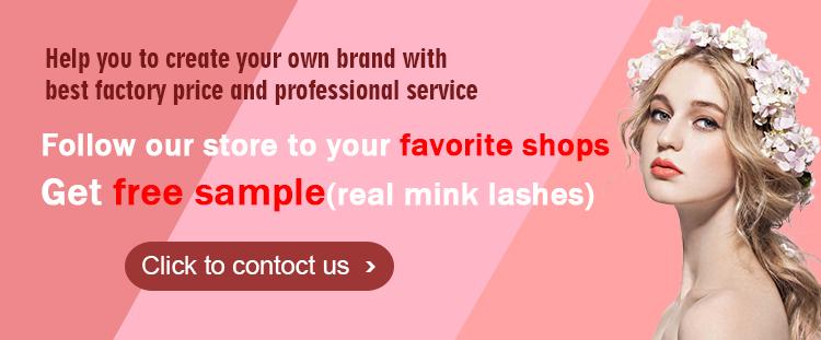 Embalaje de pestañas marca Muting, caja de Metal de oro rosa para pestañas, caja de embalaje de pestañas personalizada de marca propia de lujo