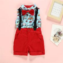 Одежда Mardi gras; Новинка; Модная одежда для маленьких мальчиков; рубашка + шорты; брюки; вечерние костюмы в джентльменском стиле; детская одежда...(Китай)