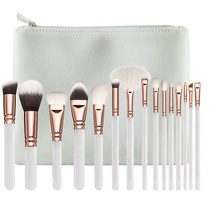2020 Terbaik Jual <span class=keywords><strong>Produk</strong></span> 15 Pcs Kosmetik Custom Make-Up Brush Set <span class=keywords><strong>Makeup</strong></span>