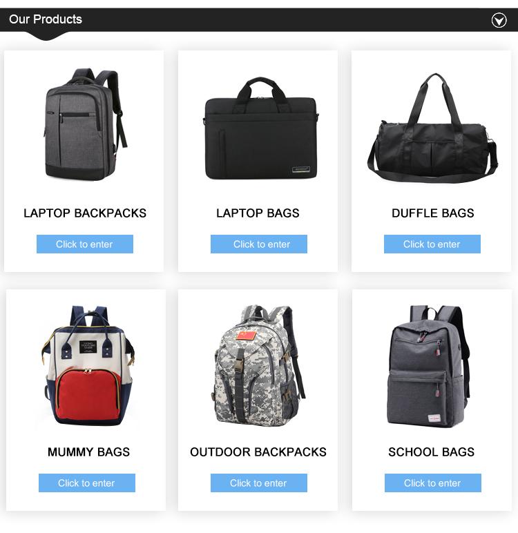 Wholesale Fashion 3 Ways Usage Travel Backpack Bag Custom Waterproof Nylon Travel Bag Duffle Bag With USB