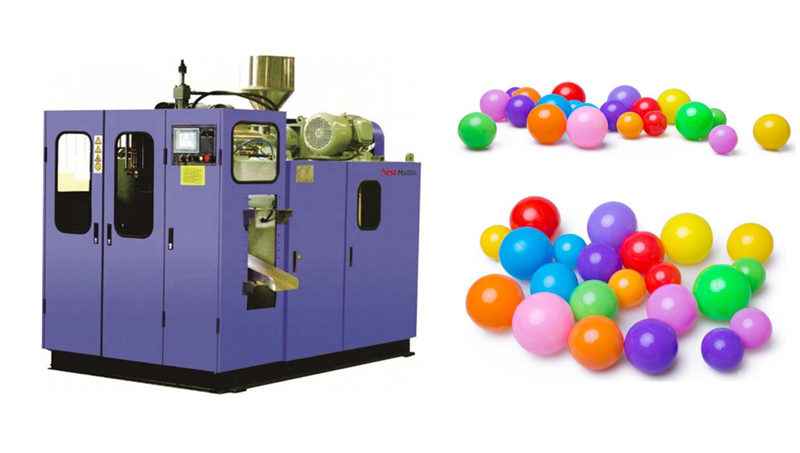 Bola De Praia De Plástico Que Faz A Máquina de Moldagem Por Sopro automática
