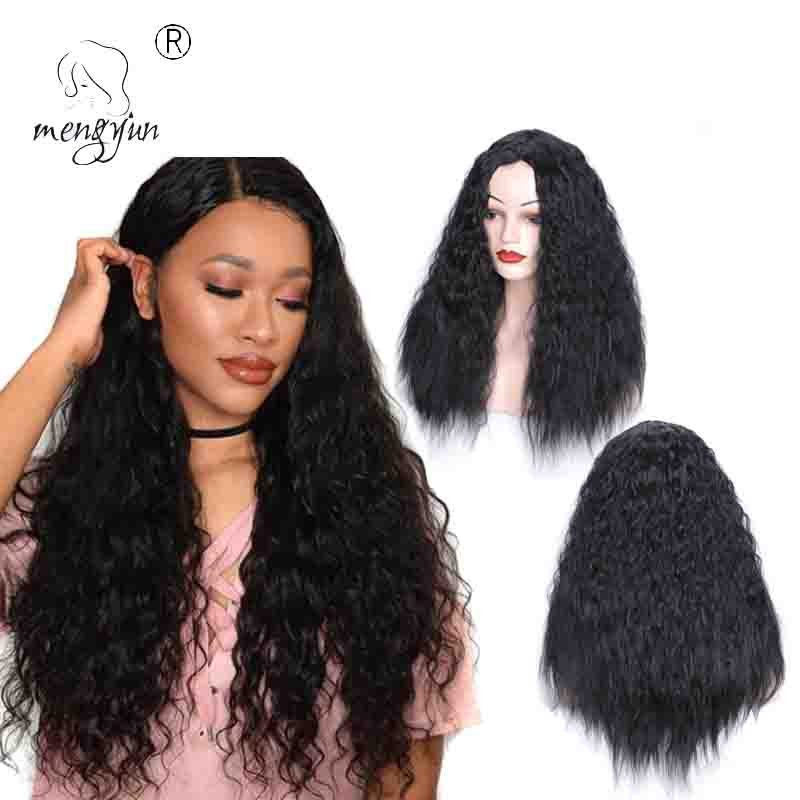 Ombre 2 tone Long Curly Wave Hair <strong>Wigs</strong> Corn Perm Fluffy <strong>Synthetic</strong> <strong>Wigs</strong> Fiber Female <strong>Wigs</strong>