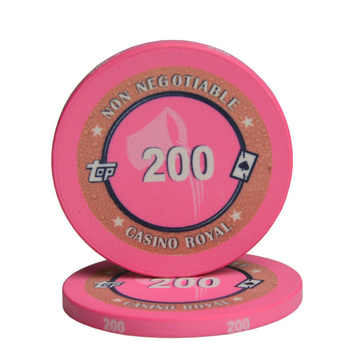 Bingo 12 Constellations Casino Royal Texas Hold'em Black Jack Briquet Pièces Personnalisé Pokerstars Jetons de Poker En Céramique