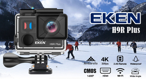 EKEN H9R Plus 4K 60fps Action Camera Ultra HD 170 degree 14MP WIFI Waterproof Video Camera Sport Cam with Remote Control