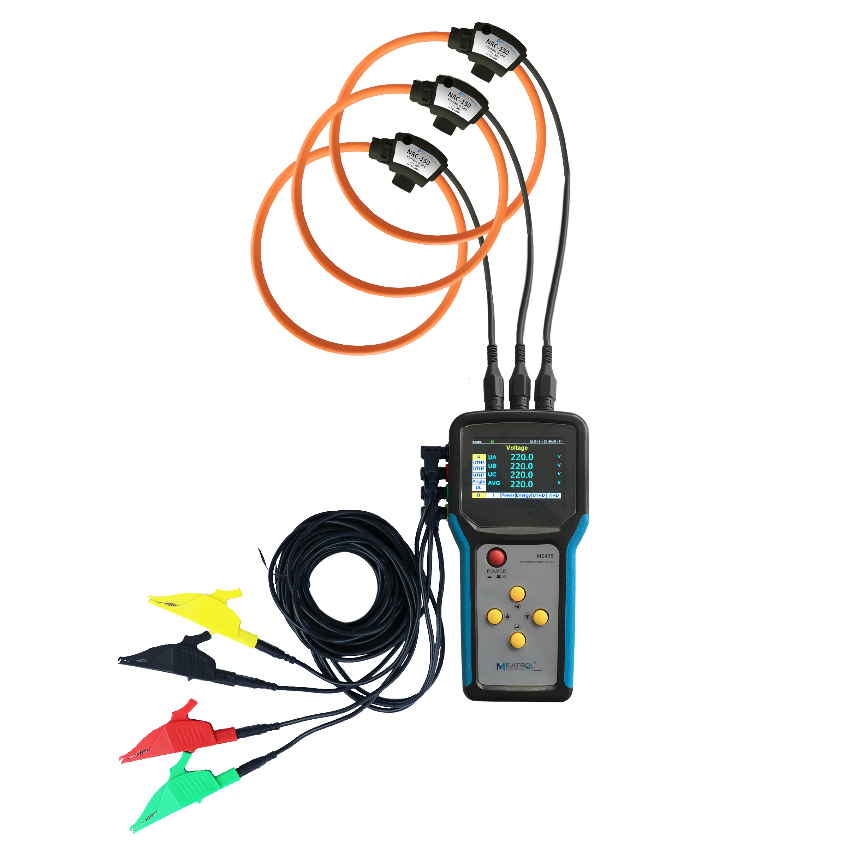 MEATROL ME440 multifunctional power quality analyzer data logger power meter