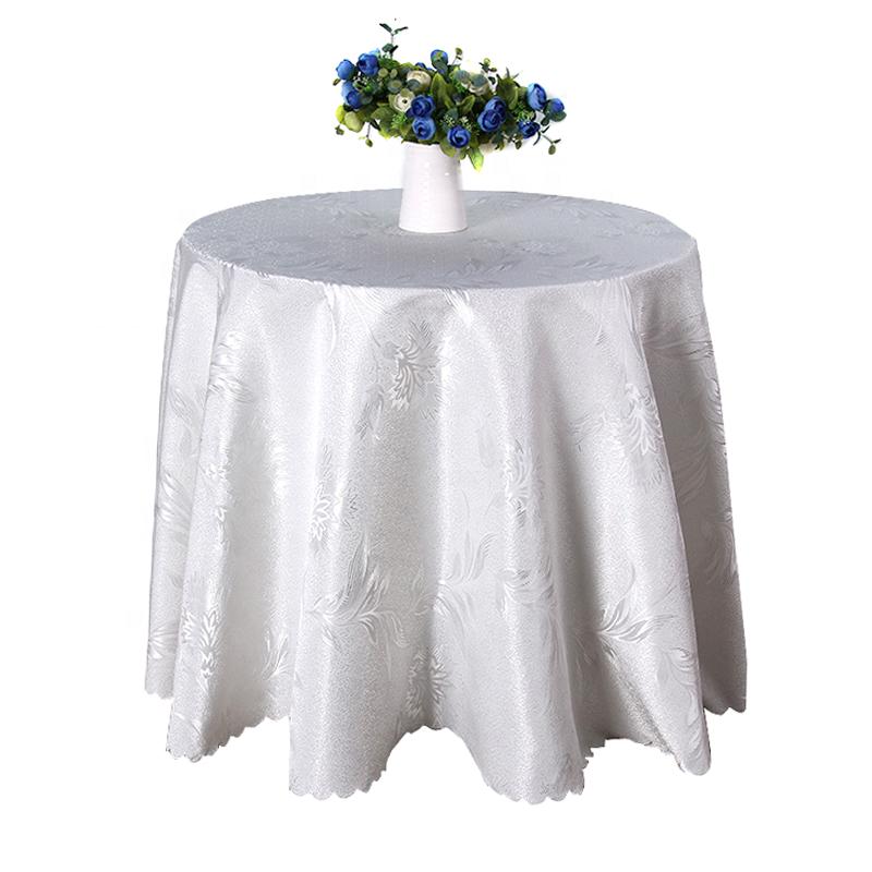 مفرش طاولة النسيج لحضور حفل زفاف حدث الديكورات المنزلية