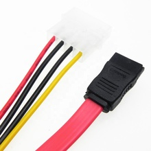 Desain Kustom <span class=keywords><strong>SATA</strong></span> Male To USB Female Adapter 2pin <span class=keywords><strong>Kabel</strong></span> Listrik