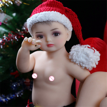 Mini Real Sex Doll Baby Silicone Material Life-like Cute Soft 80cm Reborn Baby Doll