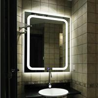 750*1000mm or customized smart led lighted makeup modern wall mirror with led light