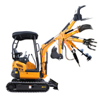 CE EPA China Hydraulic excavator mini excavators small crawler digger 1ton 2 ton 3ton 6ton cheap price for sale Factory supplier