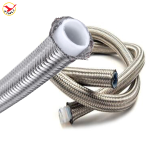 China High Quality PTFE Extruded Tube Braided Teflon Hose Tube /Tubing/ Pipe