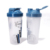 BPA Free Colorful Gym Sports Plastic Shaker Bottle For Protein With Mixing Ball