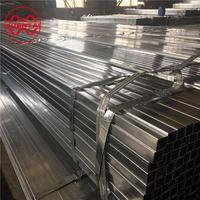 Large diameter erw pre galvanized square and rectangular pipe, pre GI square pipe