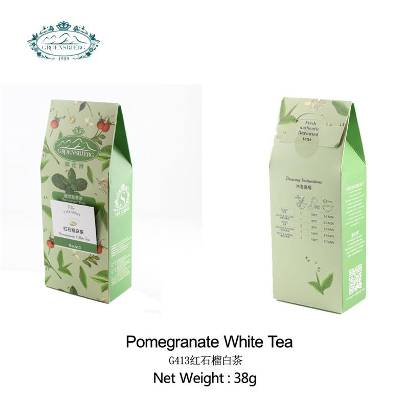 types white tea cranberry rose petals organic tea private label loose tea fresh authentic flavour - 4uTea | 4uTea.com