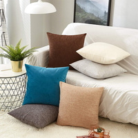 Wholesale Custom Fashion Design Soft Polyester Cotton Cushion For Home Decoration