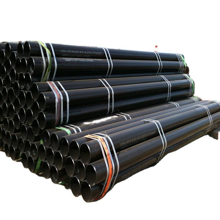 ERW hafif karbon çelik boru/dikişsiz karbon çelik boru/tüp ile fiyat