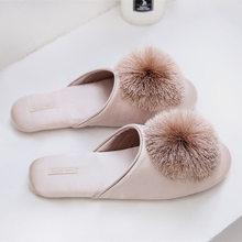 Женские домашние тапочки, женская домашняя обувь, летние женские шлепанцы, милые меховые тапочки, роскошная дизайнерская обувь для женщин(Китай)