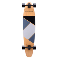 "ST0003 New Style Deck 42""*9.5"" Canadian Maple Skate Longboard Cruising"