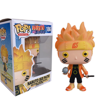 Japanese Naruto made Naruto plastic toys and gifts manufacturer customized drawings and samples customized OEM