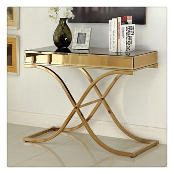 Unique Design Coffee Table Cast Iron Legs Skinny