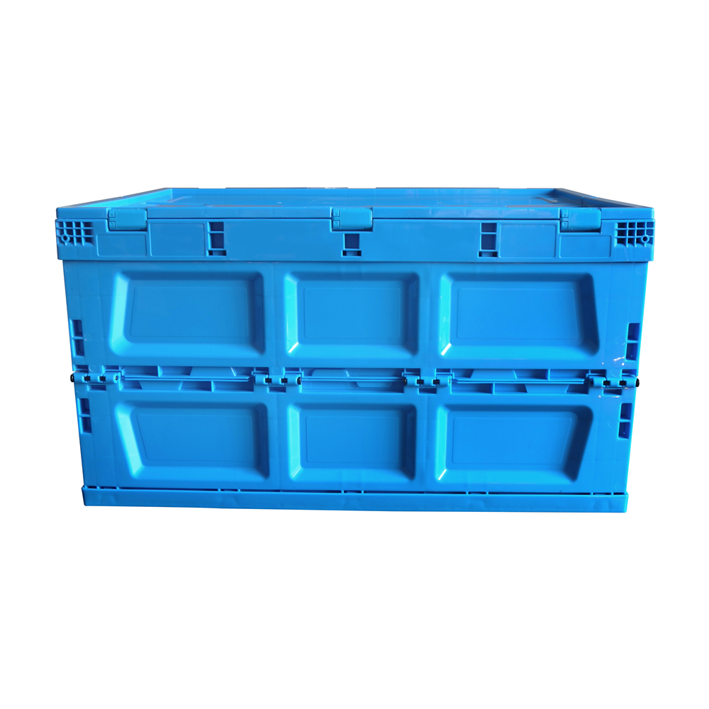 High Quality Low Price Modern Blue Plastic folding crate and folding plastic moving boxes wholesale for Saving Space