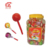 21g Halal Whistle Lollipop With Bubble Gum