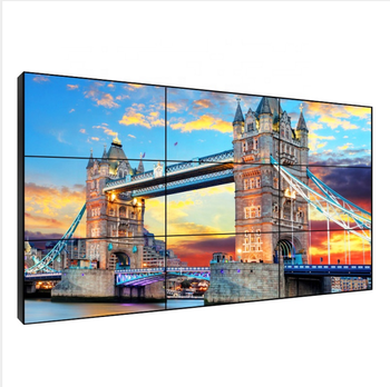 Custom 43 46 49 55 65 inch giant large big LCD commercial wall display screens for church, restaurant, cinema, hotel, conference