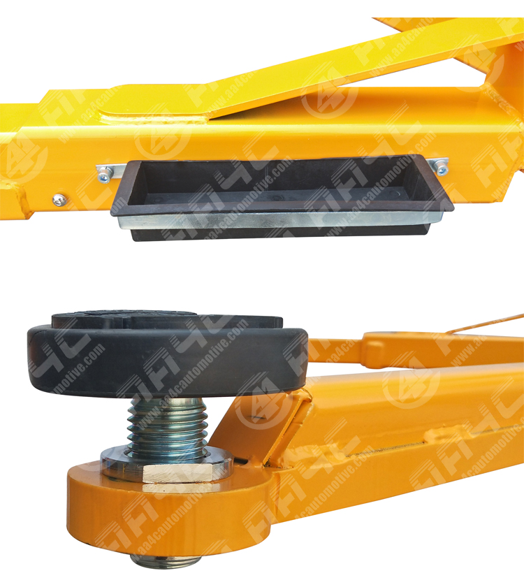 AA4C 10000lbs 4.5T Overhead gantry car lift 2 post lift auto hoist  segments columns  manual unlock  AA-2PCF45