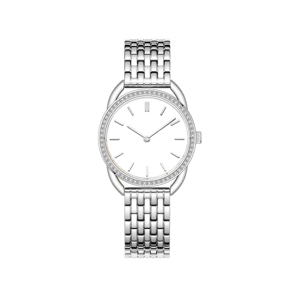 Fashion Design interchangeable Stainless Steel Japanese Quartz Movement Ladies Wrist Watch