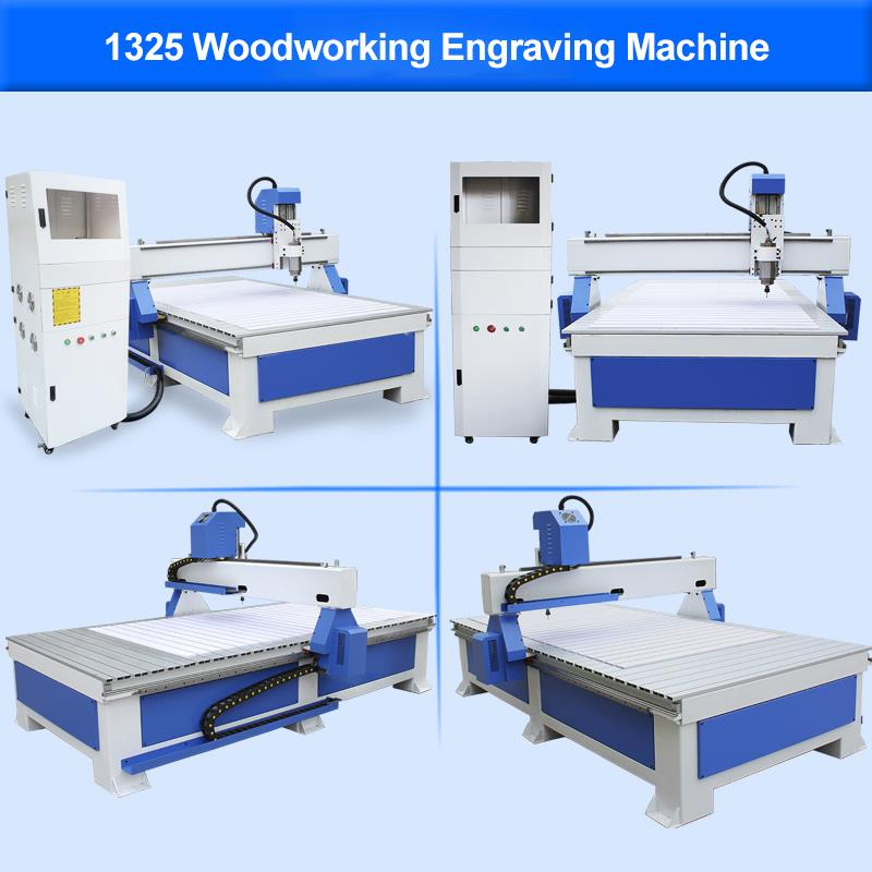 1325 5.5kw cnc wood door,furniture  engraving machine.