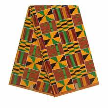 2020 Анкара Африканский батик с принтами pagne настоящий воск ткань Швейные материалы для DIY ремесла свадебное платье 100% хлопок высокое качеств...(Китай)