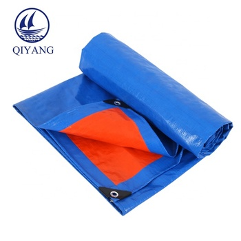 Fire Resistant Tent Tarps Printing Heavy Duty PE Coated Covers Tarpaulin for Trailer