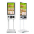 32 inch floor standing touch screen payment kiosk with printer fast food self order pos kiosk