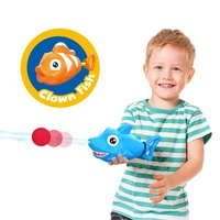 2020 New Amazon Top Sellers 2 in 1 Summer Outdoor Swimming Pool EVA Ball Soft Bullet Water Gun Toy for Children Kids