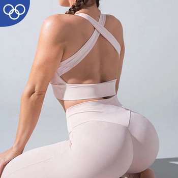 Wholesale Gym Wear Women Fitness Sweaty Body Building Gym Clothing