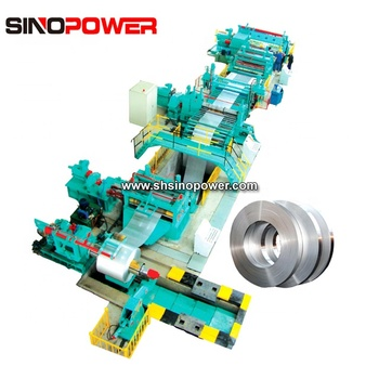 4-16mm Thickness Decoil Leveling Slitter Recoiler Complete slitter line for sale with high thickness and favorable price